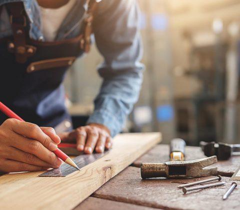 Steigerhouten tv meubel maken